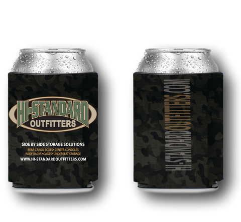 Custom Beer Can Koozie Hi-Standard Outfitters UTV ATV JEEP OFF-ROAD