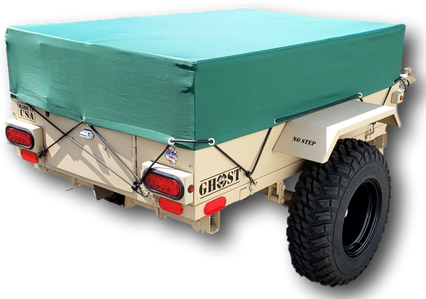 Ghost M1 UTV ATV Trailer Tactical Pop Up Camper lightweight towable