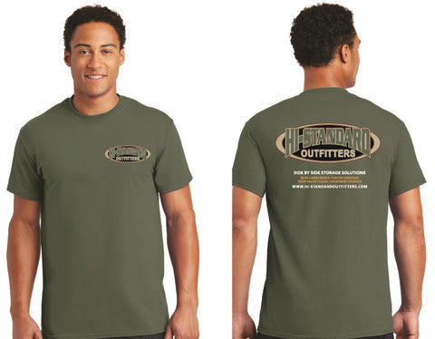 HI-Standard Outfitters New Logo Tshirt Mens Outdoor rugged Off-road UTV ATV