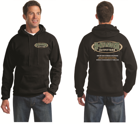 Men's HSO New Logo Hoodie - Black