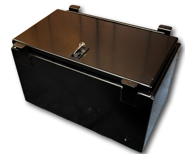 Kawasaki Mule Pro FX/ Pro FXT Series Underseat Storage Box, Aluminum TIG Welded, Water proof, Dust proof, Lockable, Secure