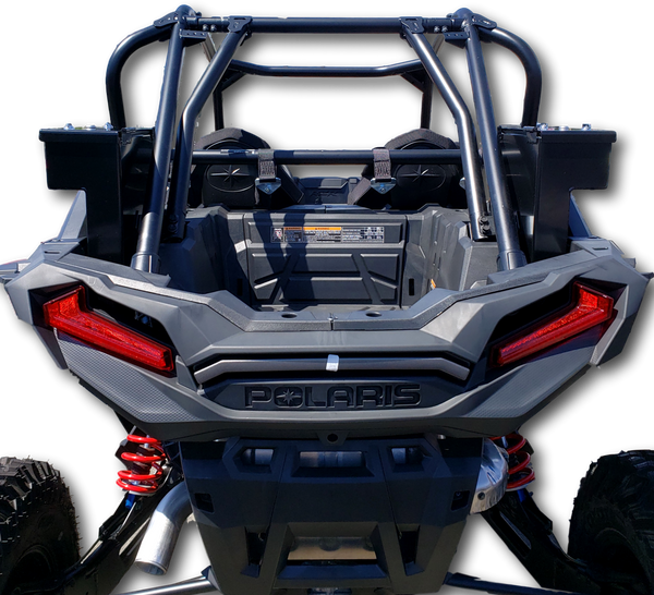 Polaris RZR 1000 Turbo/ Turbo S Side Storage Security Toolbox Heavy Duty Aluminum Metal build