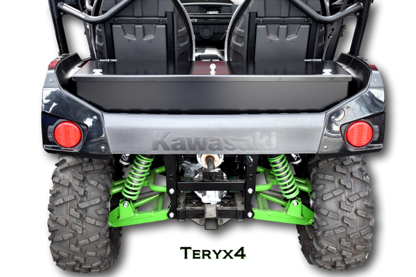 Kawasaki Teryx4 Rear Cargo Bed Storage Box Lockable Secure Metal Weatherproof