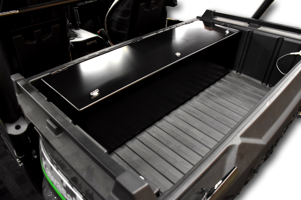Kawasaki Teryx Rear Cargo Bed Storage Box Lockable Secure Metal Weatherproof