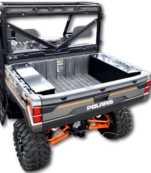 UTV ATV polaris ranger heavy duty security storage box console powder coated metal construction weatherproof, lockable, secure hi-standard