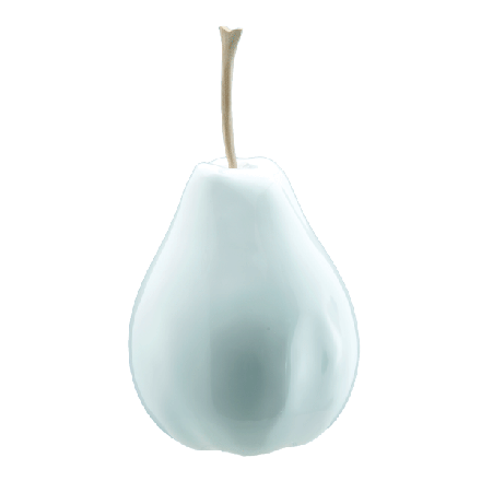 DKliving - Resin Pear - Pomegranate Home Decor