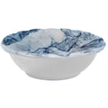 Blue Marble Rectangular Melamine Tray with 3 Mini Bowls