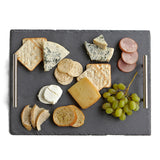 Rectangular Slate Tray with Handles