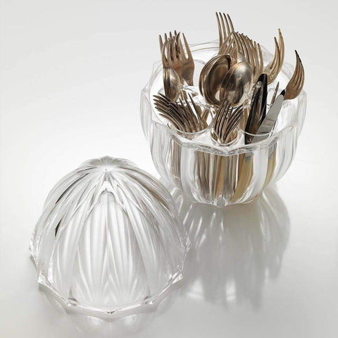 Acrylic Mafalda Cutlery Holder