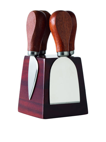 Square Block Mag. Cheese Knife Set - Torre & Tagus - Home Decor store