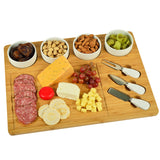 Cheese Board Bambo Serving set -8piece