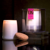 Fig Favoloso Scented Soy Candle - fig leaf, black currant, coconut, jasmine home decor miami