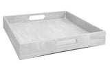 Drift Solid Wood Tray - Swing Design - Miami Home Decor - grey