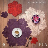 Mijal Gleiser Flor Pua Placemats set of 8