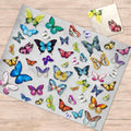 Butterflies Paper Placemats & Coasters - Set of 12