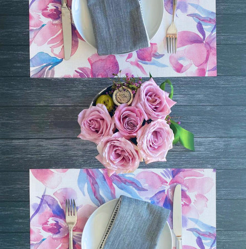 Bloom Printed Vinyl Placemat