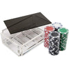 "Luxe Dominoes La Ficha Poker Chip Set "" La Ficha""."