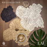 Mijal Gleiser Leaf Lau placemats  set of 8