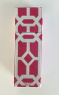 Square Matchbox Lattice - Pomegranate Miami Home Decor - pink