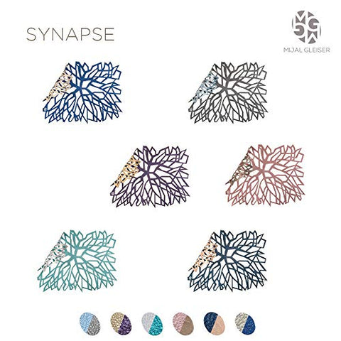 Mijal Gleiser Synapse Lacer Cut Placemat set of 8