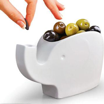 OLIVES elephant bowl