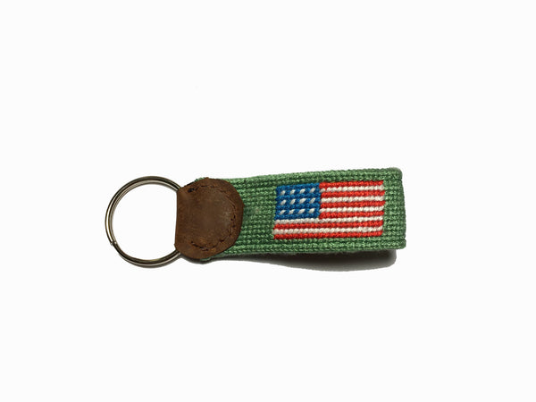 Anchored to America Key Fob (Green)