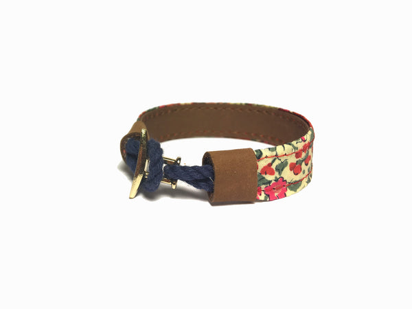 Liberty Leather Bracelet