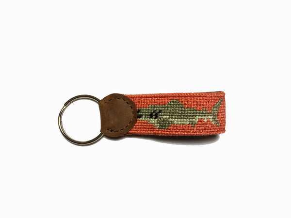 Shark Bait (Salmon) Key Fob