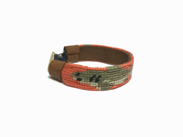 Sharkbait Needlepoint Bracelet