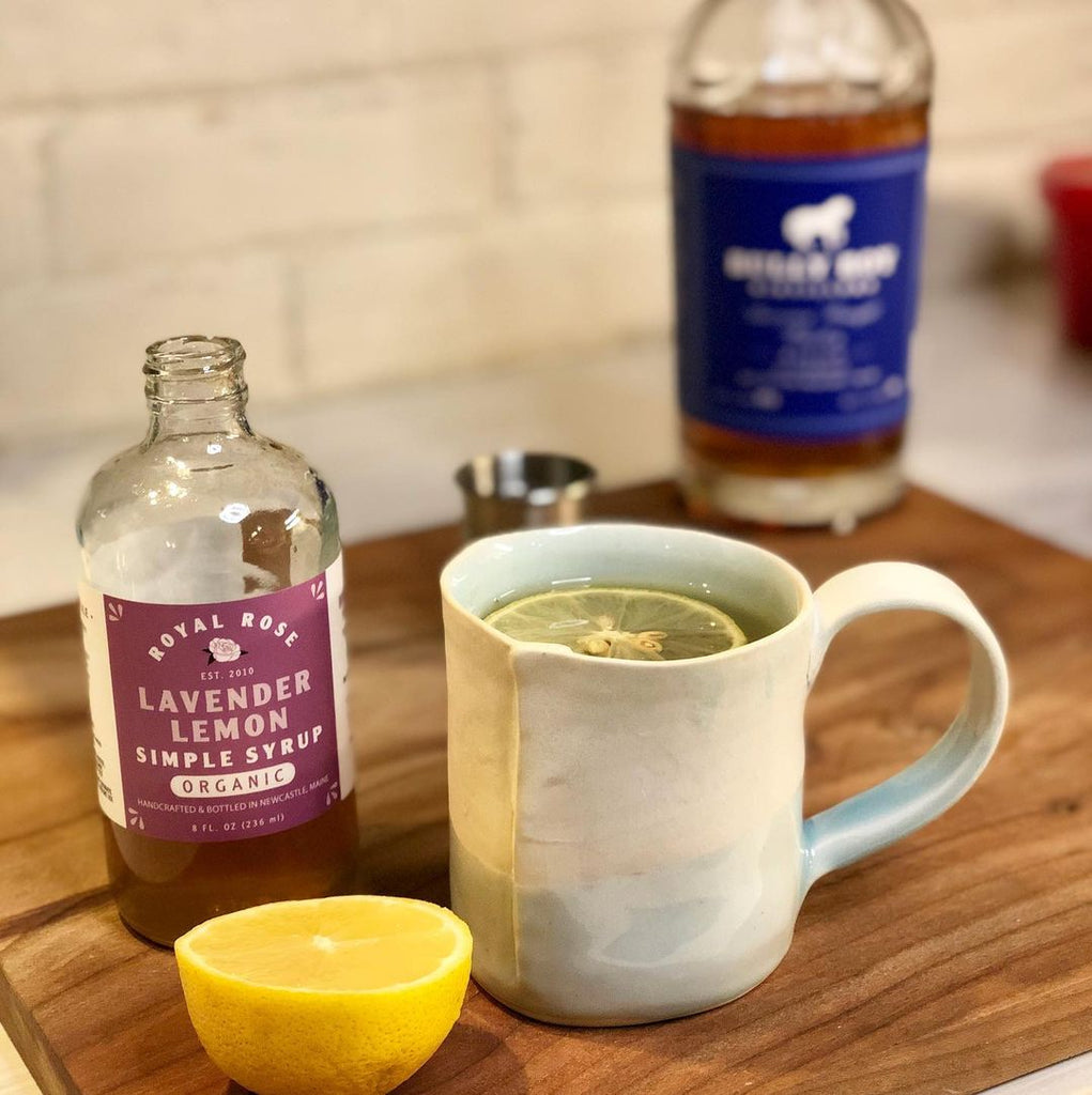 Lavender Hot Toddy