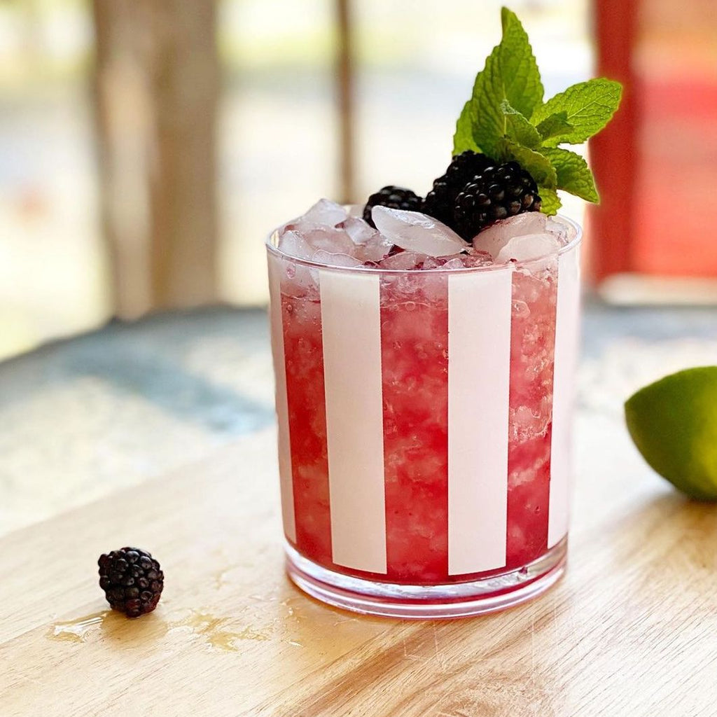 Blackberry Rose Mule