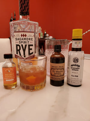 Sagamorange Vanilla Old Fashioned