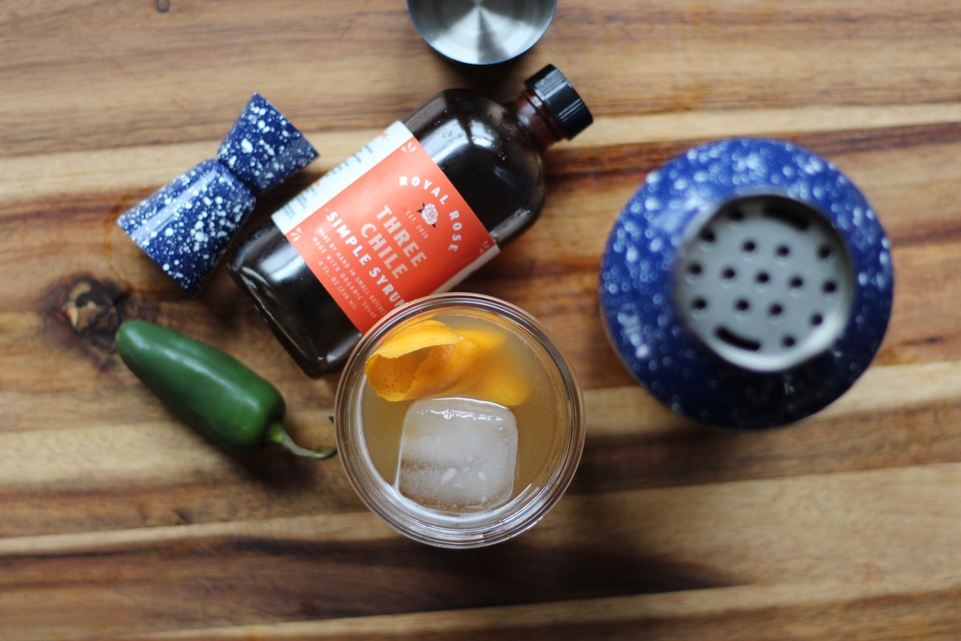 Three Chili Lemon Tonic