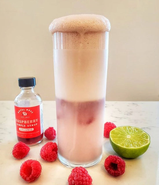 Raspberry Lime Fizz
