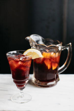 Orange Vanilla Sangria