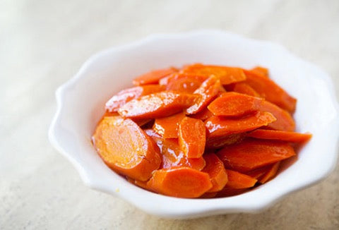 Saffron Glazed Carrots