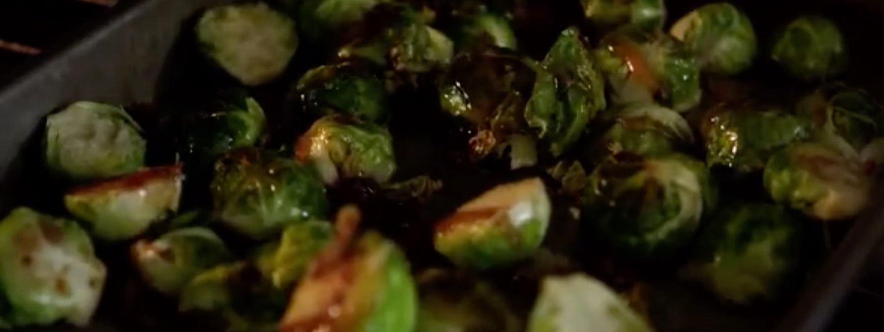 Sweet & Spicy Brussels Sprouts