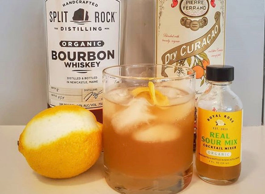 Split Rock Sidecar showcasing Royal Rose Real Organic Sour Mix!