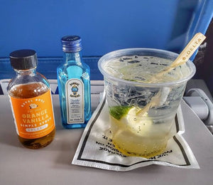 Orange Vanilla Collins at 30,000ft