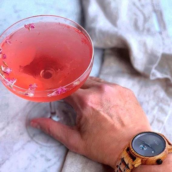 Timely Rose Martini