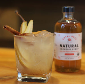 Pear Cinnamon Spritz Mocktail