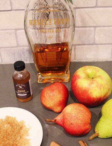 Bear Down ingredients including Anise Organic Royal Rose Simple Syrup