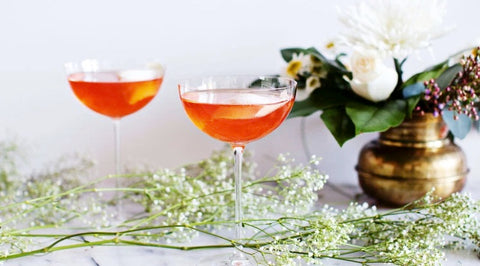 Royal Rose Rose Syrup in a Spritz