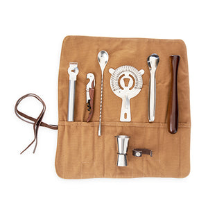 Canvas Bar Cocktail Kit w/ 7 Tools