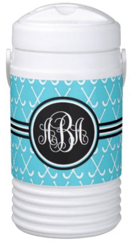 Field Hockey Monogram Coolers