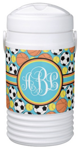Multi-Sport:  Basketball, Soccer & Softball Igloo Coolers