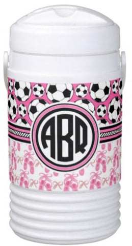 Ballet & Soccer Igloo Cooler