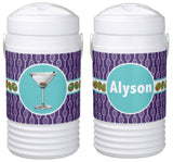 Cocktails & Tennis Personalized Cooler