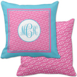 Horseback Riding Monogram Pillows