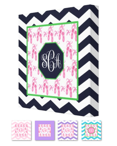 Ballet Monogram Canvas Prints
